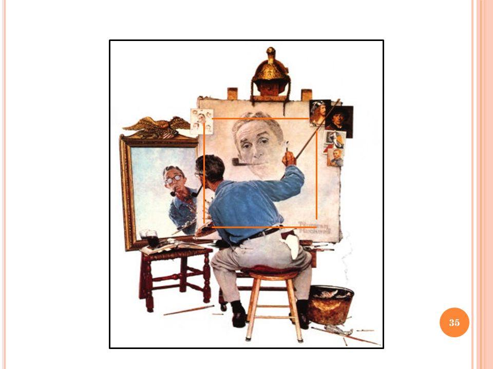 Pourquoi Norman Rockwell fait-il référence à dautres artistes européens ? 36