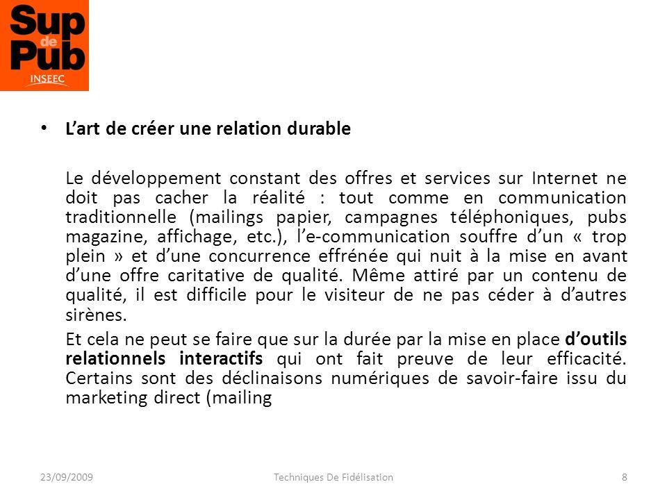 MIEUX CONNAÎTRE LE CLIENT… 1.