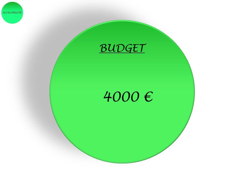 BUDGET 4000