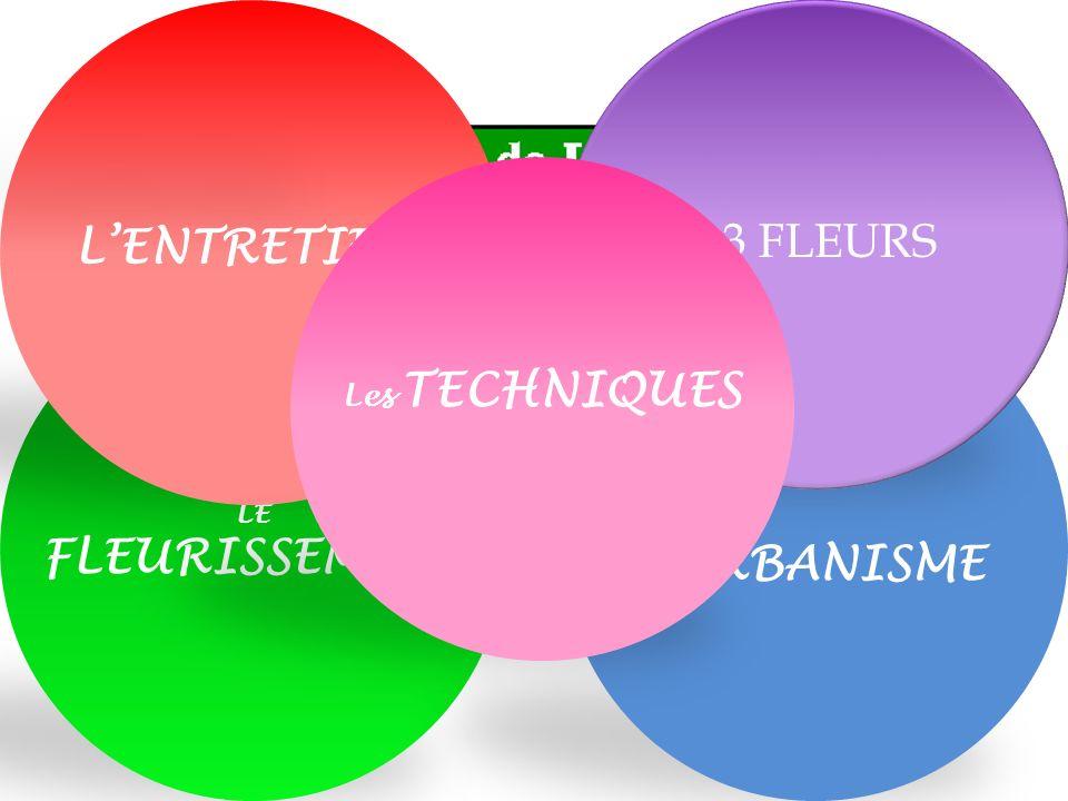LURBANISME LENTRETIEN 3 FLEURS