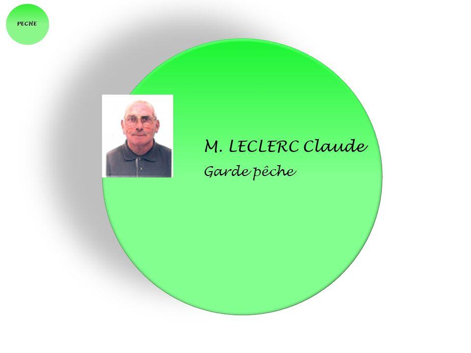 M. LECLERC Claude Garde pêche