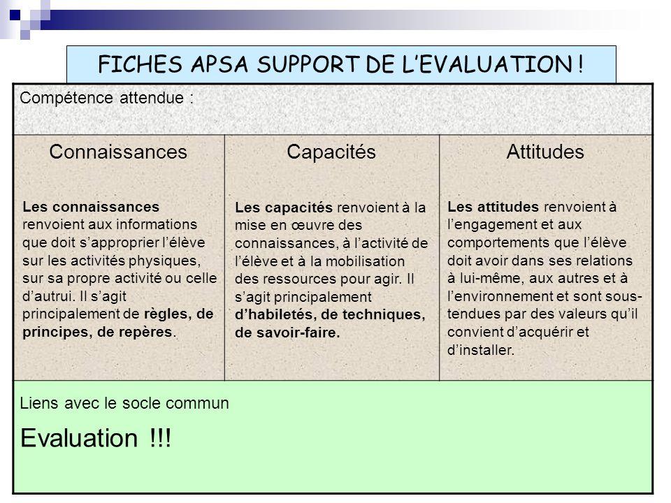 3.CE QUI DEMEURE FINALITES & OBJECTIFS ; A.P.S.A.