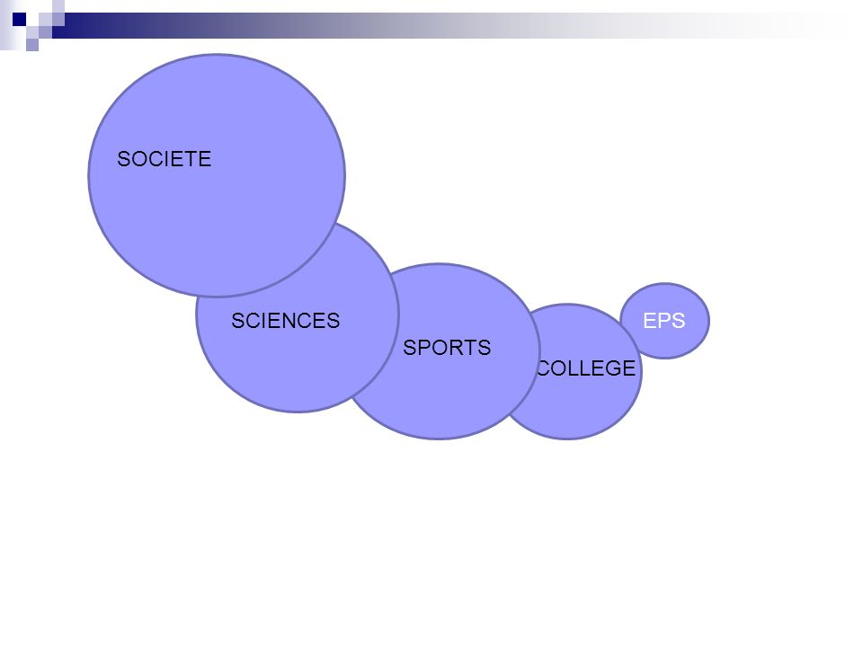 EPS COLLEGE SPORTS SCIENCES SOCIETE