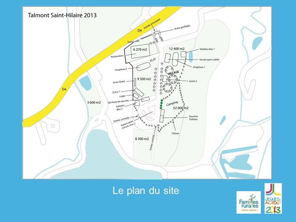 Le plan du site