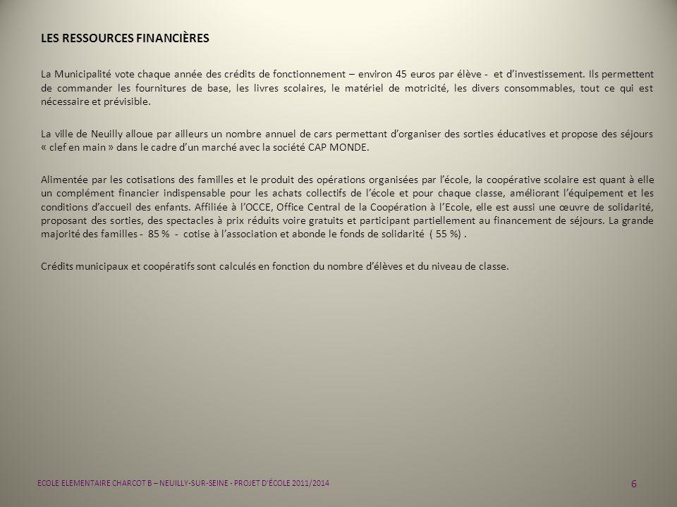 17 ECOLE ELEMENTAIRE CHARCOT B – NEUILLY-SUR-SEINE - PROJET D ÉCOLE 2011/2014 PRIORITÉS : 4 HARMONISER LES PRATIQUES APPRENDRE A PORTER SECOURS FICHE ACTION TOUT CYCLE Libellé de laction : Prévenir, protéger, alerter et intervenir dans le cadre dune démarche citoyenne arrêté du 4 avril 2007 (BO n°5 du 12 avril 2007) Partenaires associés : - pompiers - médecin et infirmière scolaire - association Prévention-MAIF et délégation MAIF de Nanterre - OCCE - parents travaillant dans le milieu médical ou le secourisme Modalités dorganisation : 4 de la classe 4 de lécole 4 de léquipe - mises en situation - visionnage de DVD - espace MAIF de la Cité des Enfants à la Villette - construction de parcours et prise de risque - utilisation de matériel didactique - visite dun centre de secours - intervention de spécialistes Productions possibles : - affiches dinformation pour lécole ( B2i) - travail spécifique en conseil denfants - mise en ligne sur le site de lécole - livret dévaluation Demandes daides : - matériel pédagogique et didactique, DVD, images, affiches, … - demandes de photocopies aux familles - demandes de financements spécifiques pour organiser des sorties, monter un projet… Calendrier / Echéances : - mise en place sur toute la scolarité primaire avec répartition des compétences et des savoirs à acquérir par cycle et par niveau Modalités dévaluation prévues : Validation en fin de cycle 3 à laide du document officiel attestant des capacités de lenfant à porter secours (élément constitutif du dossier dentrée en sixième de collège).