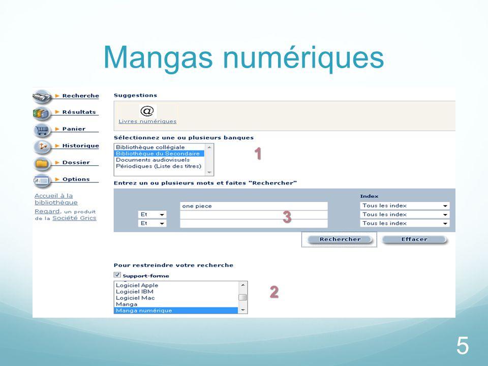 Mangas numériques 5 1 11 1 2 22 2 3 33 3