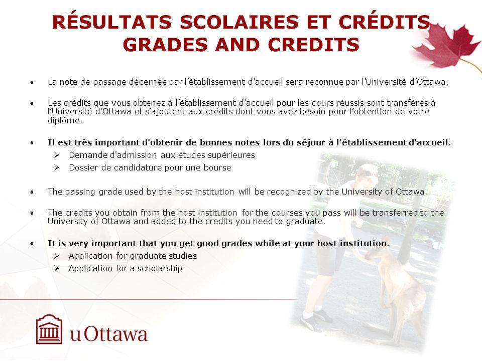 INFORMATION International Exchange Program International Office, University of Ottawa Tabaret Hall, Room M386 Web site: www.international.uOttawa.ca outgoing@uottawa.ca Telephone: 613-562-5847