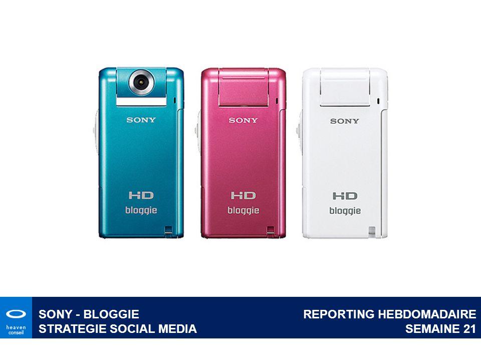 REPORTING HEBDOMADAIRE SEMAINE 21 SONY - BLOGGIE STRATEGIE SOCIAL MEDIA