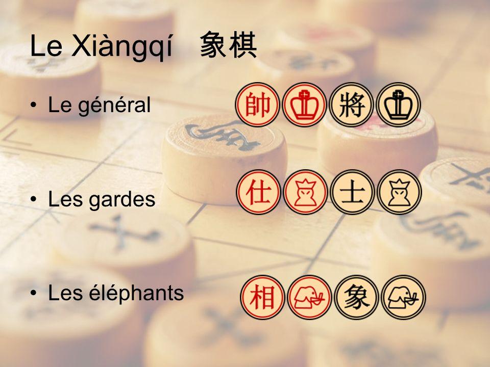 Le général Les gardes Les éléphants Le Xiàngqí
