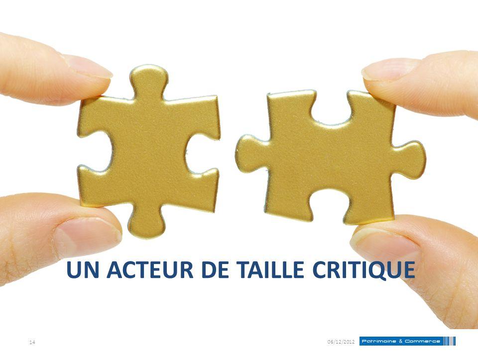 UN ACTEUR DE TAILLE CRITIQUE 06/12/2012 14