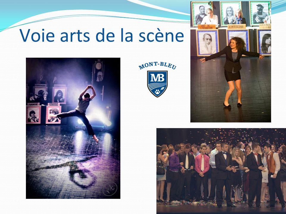 Voie arts de la scène