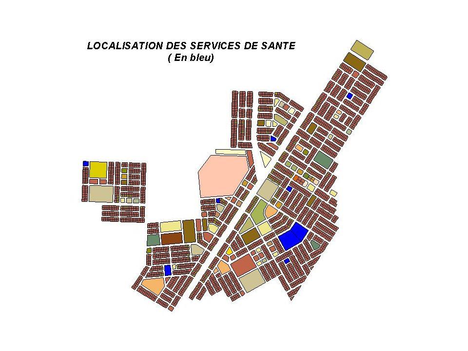 LOCALISATION DES SERVICES DE SANTE