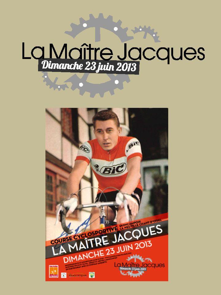 Quincampoix et La Neuville Chant dOisel rendent hommage à Jacques Anquetil Jacques Anquetil, le célèbre coureur cycliste, quintuple vainqueur du Tour de France a vécu sa jeunesse à Quincampoix.