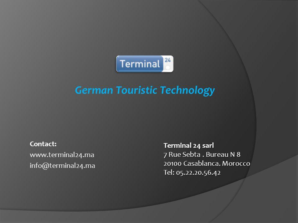 Terminal24 est un membre de : Lot.