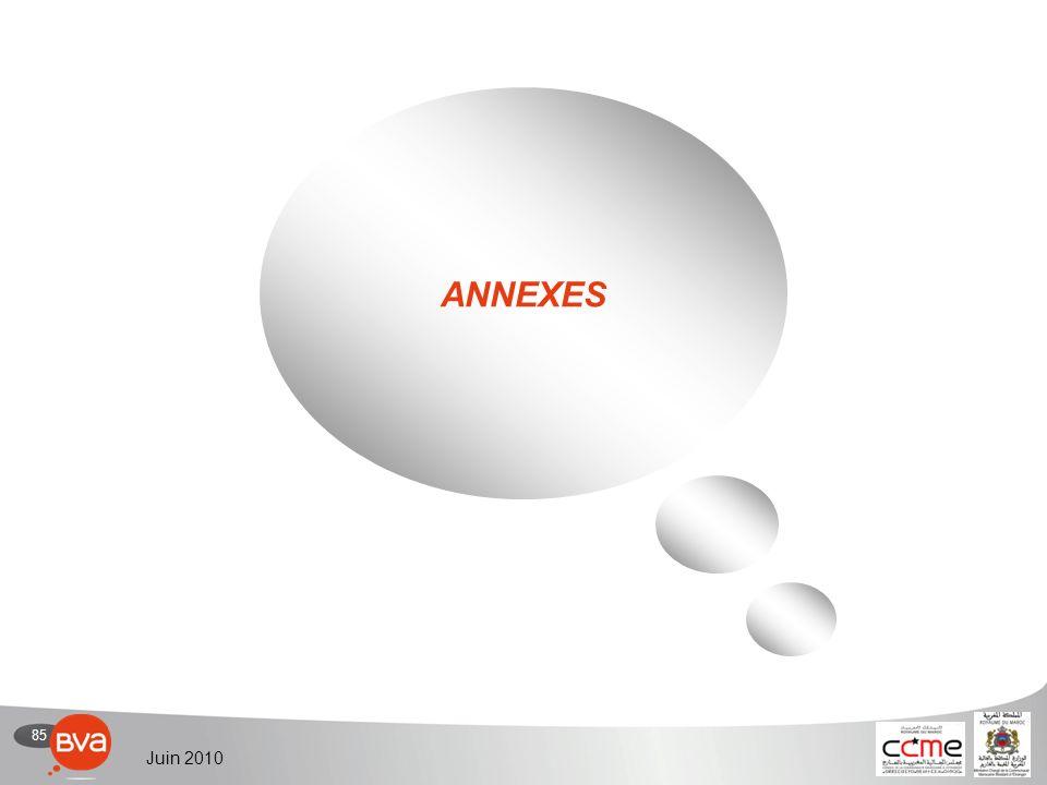 85 Juin 2010 ANNEXES