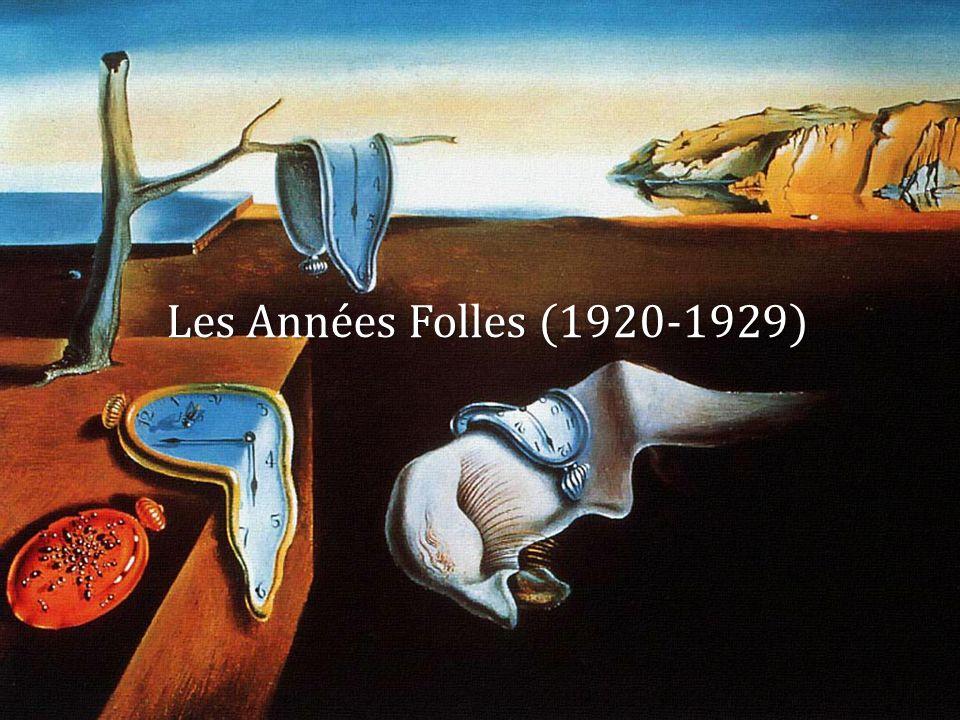 Les Années Folles (1920-1929)