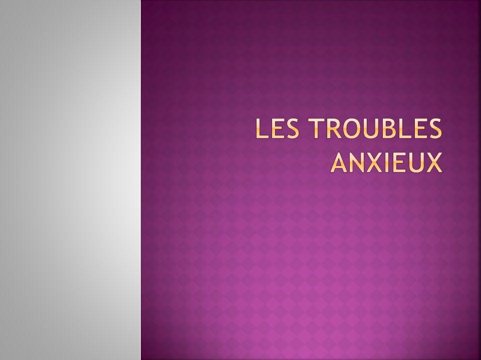 Lanxiété est, le plus souvent observable que verbalisée par le patient lors dun entretien