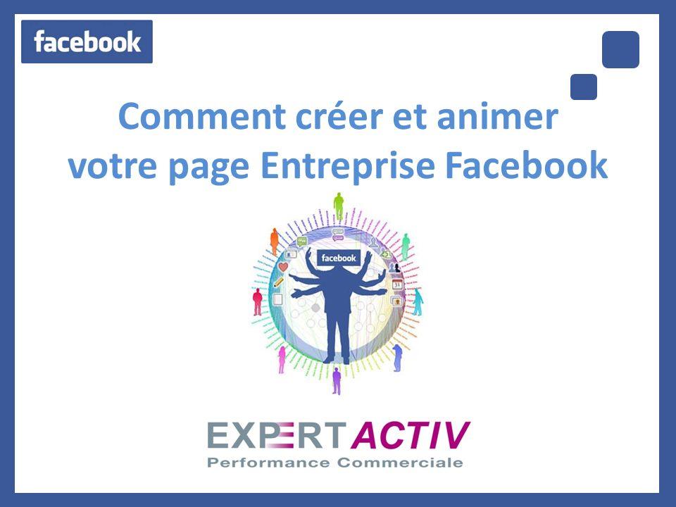 Comment créer et animer votre page Entreprise Facebook ?