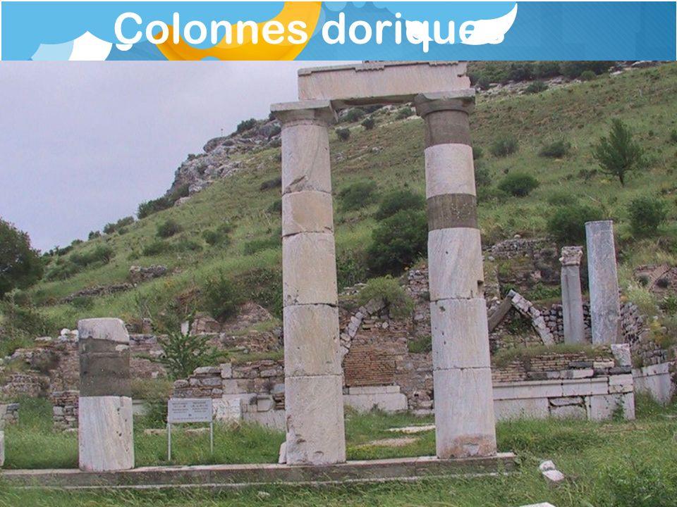 Colonnes doriques