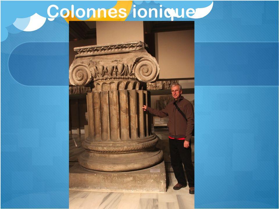 Colonnes ioniques