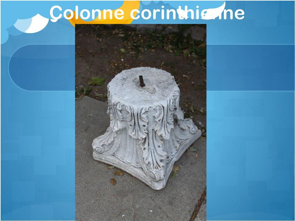 Colonne corinthienne