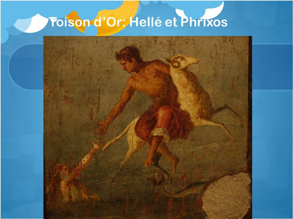 Toison dOr: Hellé et Phrixos
