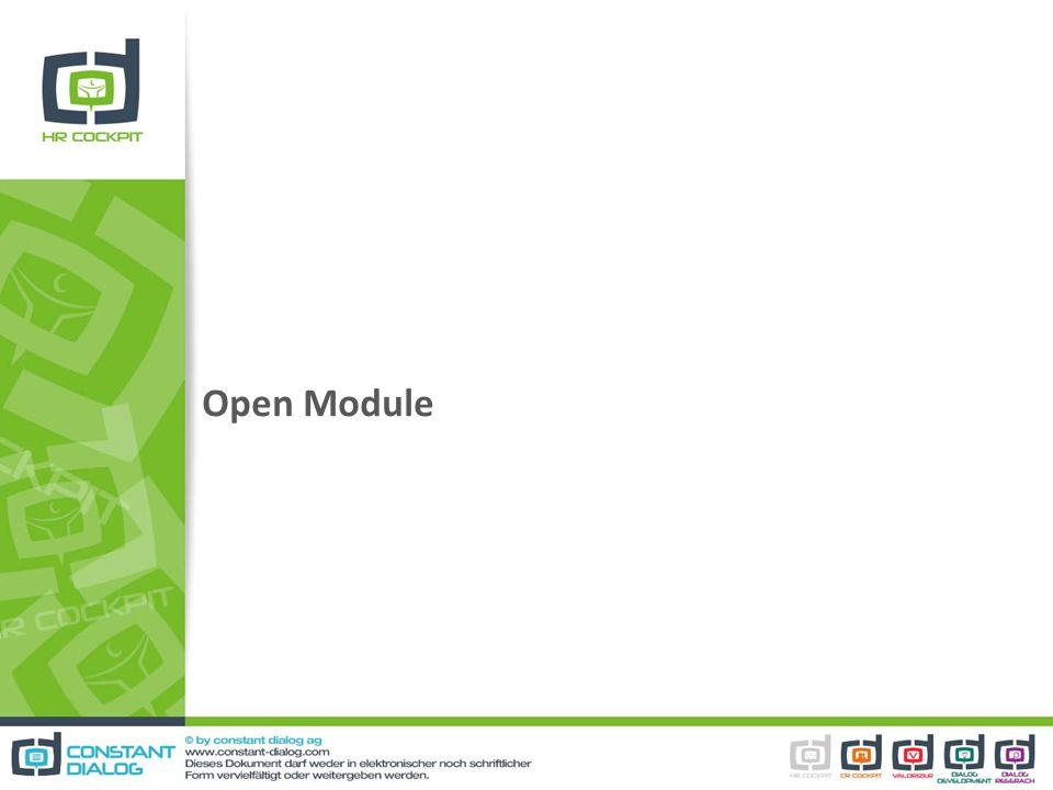 Open Module