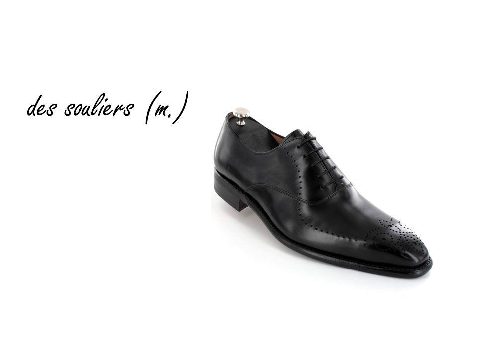 des souliers (m.)