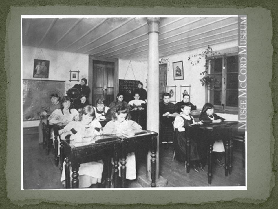 Léducation à la ville Les professeurs à la ville étaient des religieux.