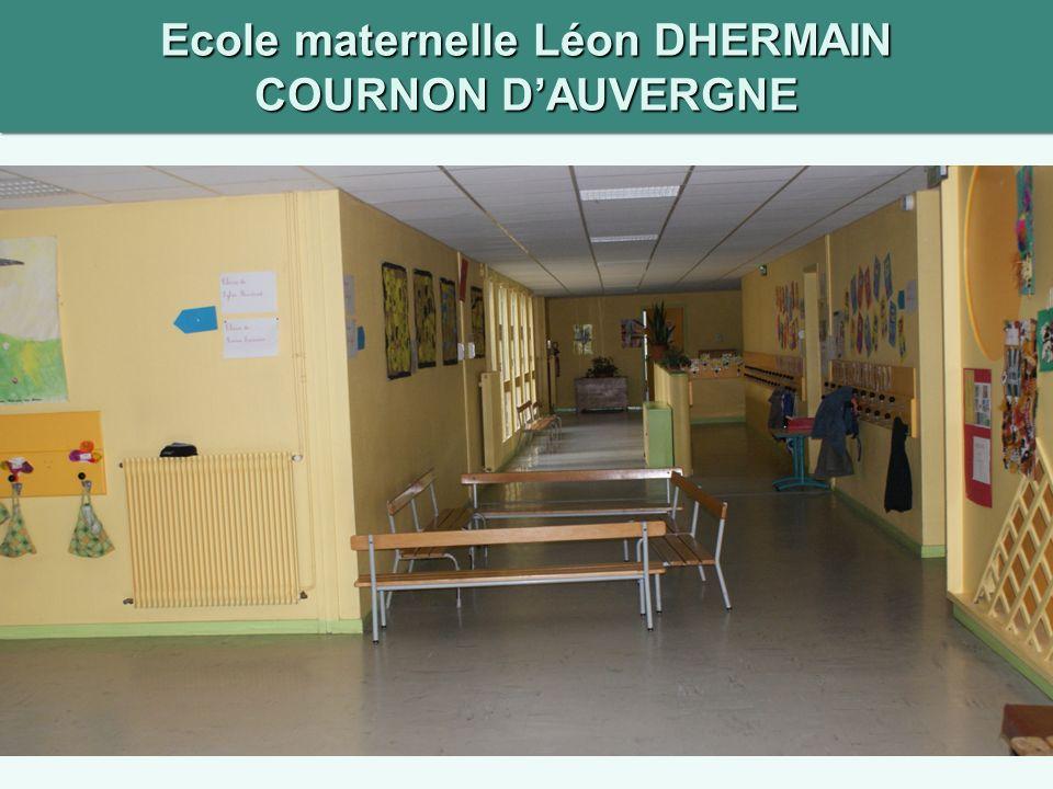 Ecole maternelle Léon DHERMAIN COURNON DAUVERGNE