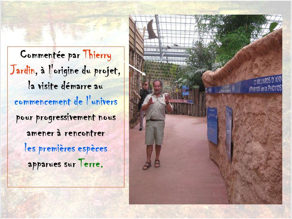Elle est installée en plein coeur de la base de plein air et de loisirs de Léry- Poses située à côté de Val de Reuil dans l'Eure. Une étendue de 1300