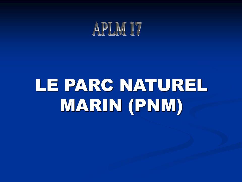 LE PARC NATUREL MARIN (PNM)