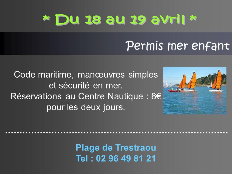 Permis mer enfant Code maritime, manœuvres simples et sécurité en mer.