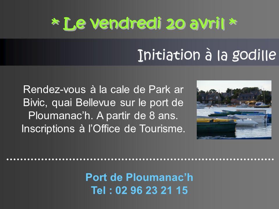 Initiation à la godille Rendez-vous à la cale de Park ar Bivic, quai Bellevue sur le port de Ploumanach.
