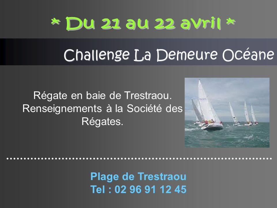 Challenge La Demeure Océane Régate en baie de Trestraou.