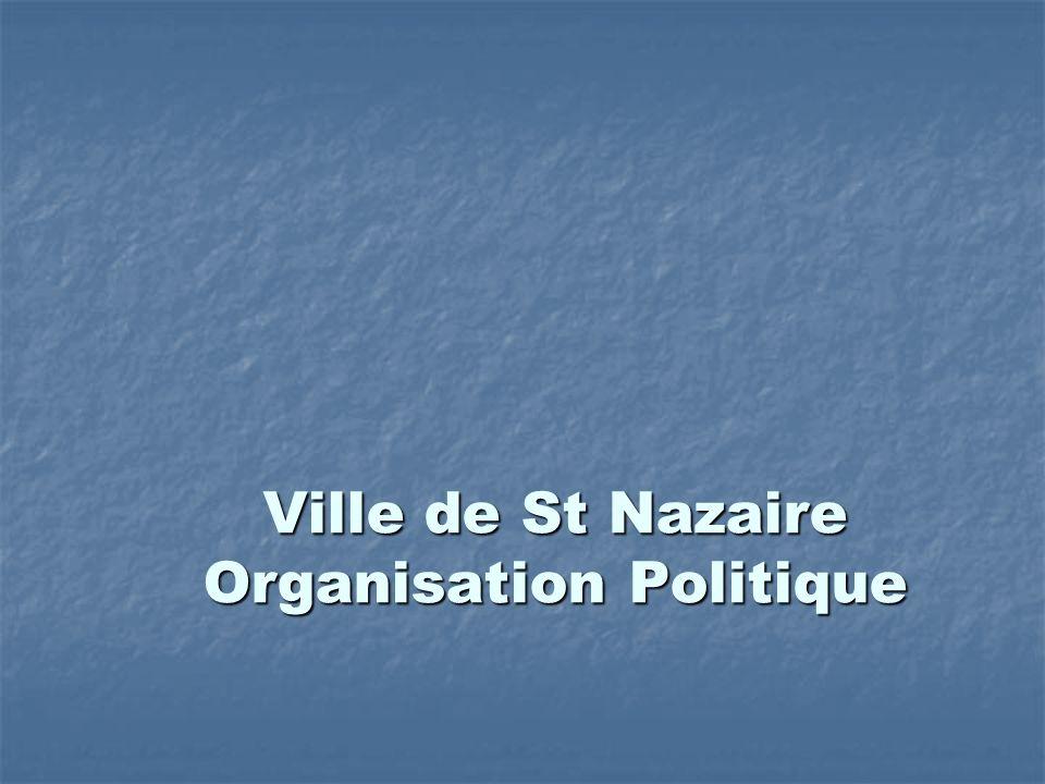 Ville de St Nazaire Organisation Politique