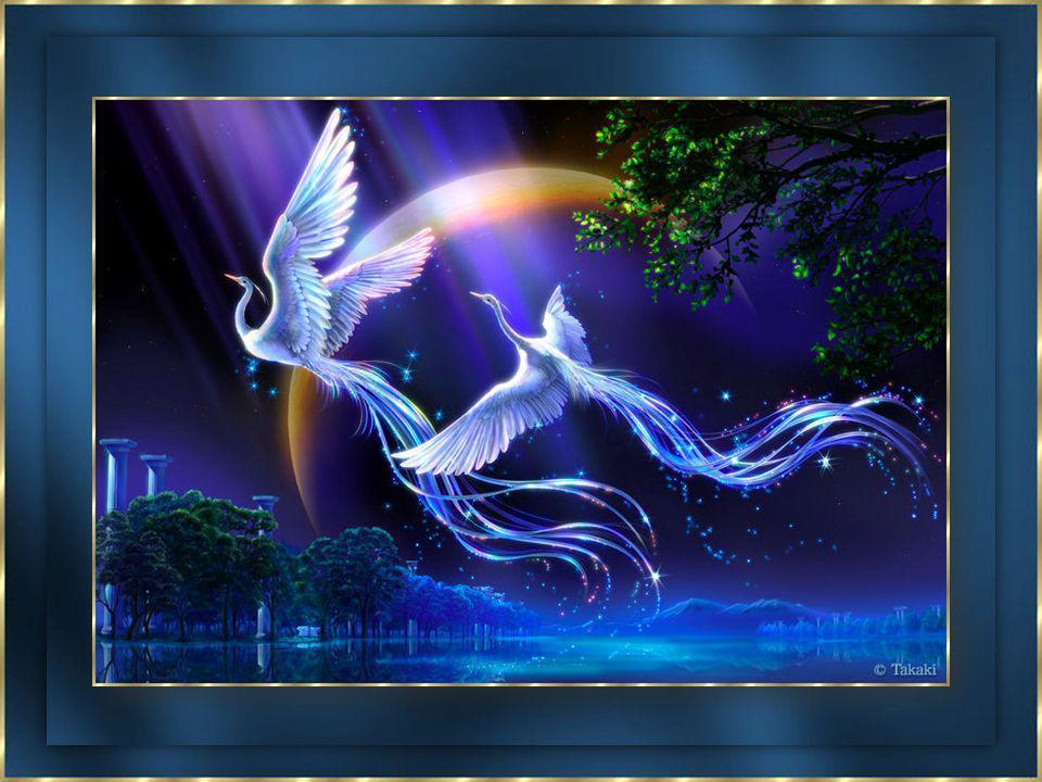 Un souffle et un vent intérieur se lever...Nous commencerions doucement à déployer nos ailes.