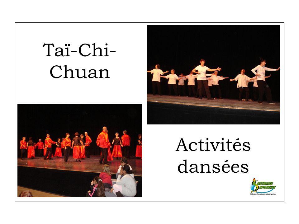 Taï-Chi- Chuan Activités dansées