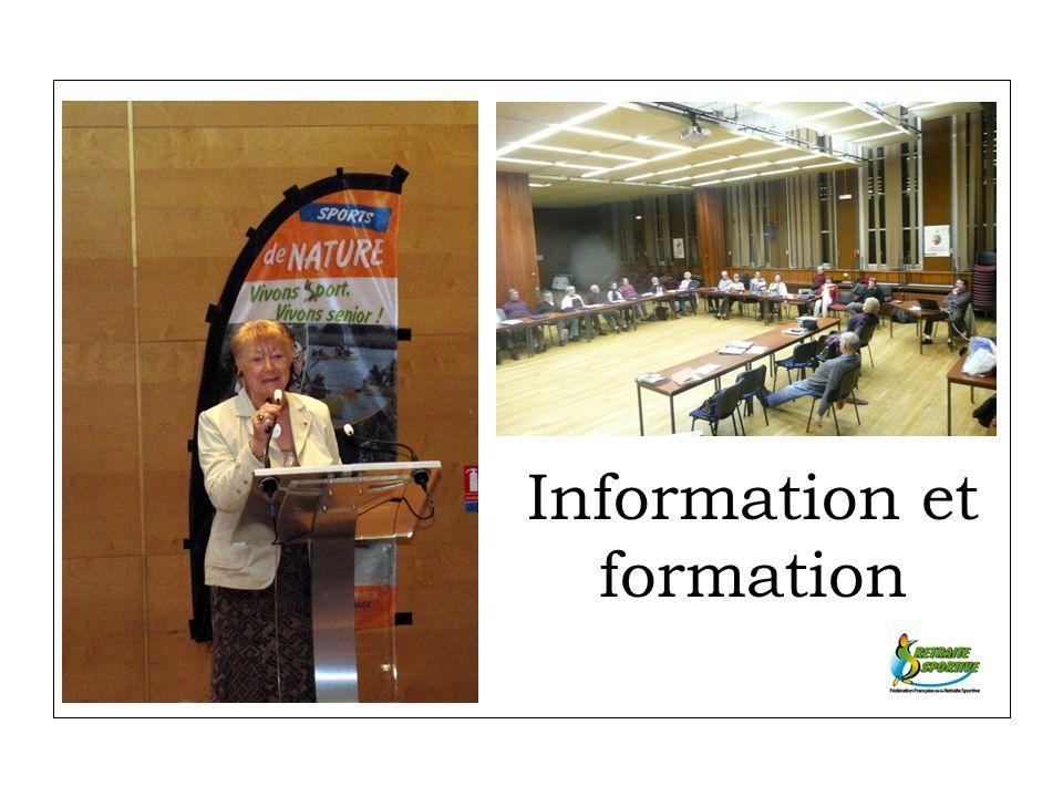 Information et formation
