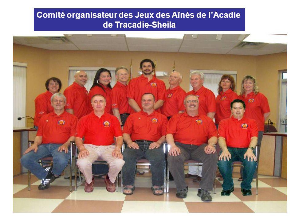 Comité organisateur des Jeux des Aînés de lAcadie de Tracadie-Sheila