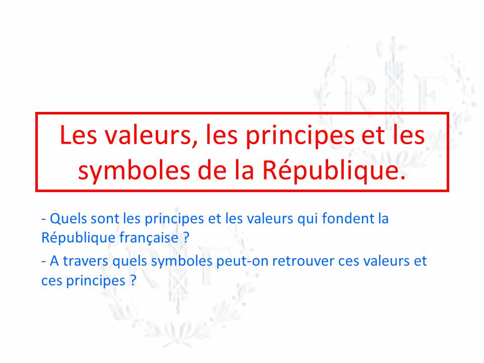 Les fondements de la République française.Document 1: Le préambule de la Constitution de 1958.