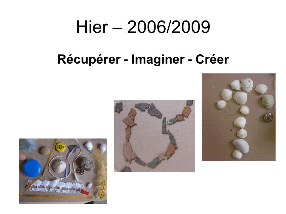 Hier – 2006/2009 Récupérer - Imaginer - Créer