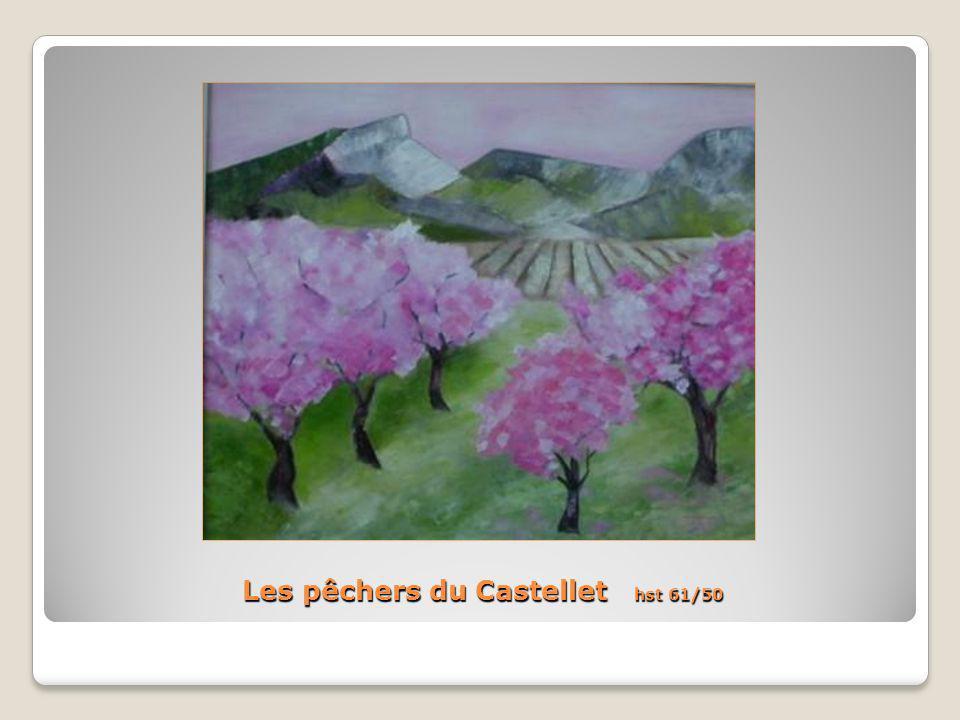 Les pêchers du Castellet hst 61/50