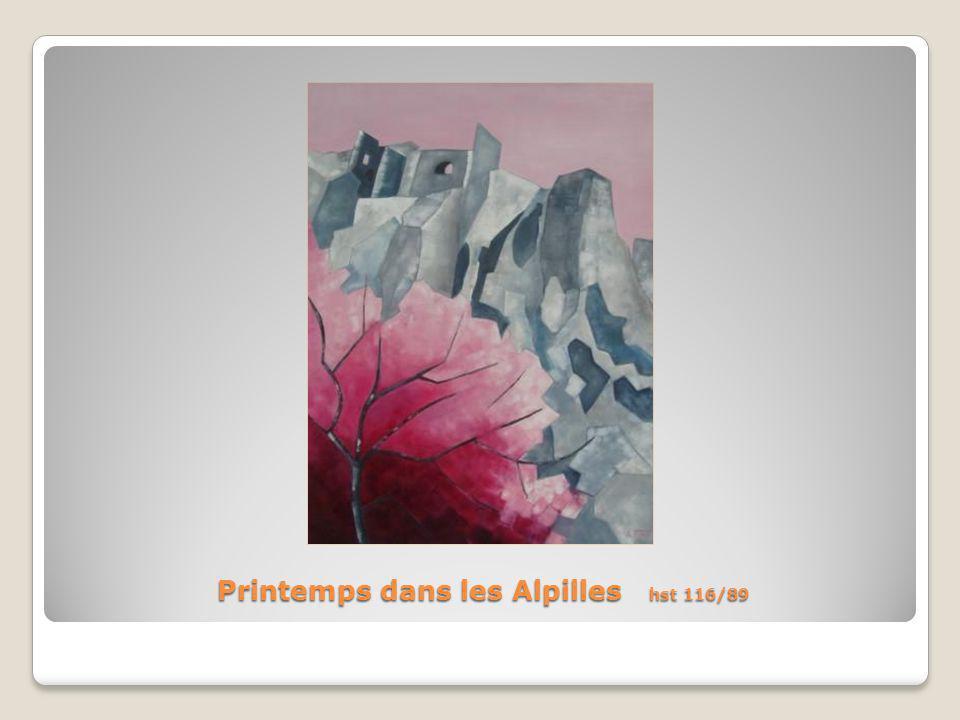 Printemps dans les Alpilles hst 116/89