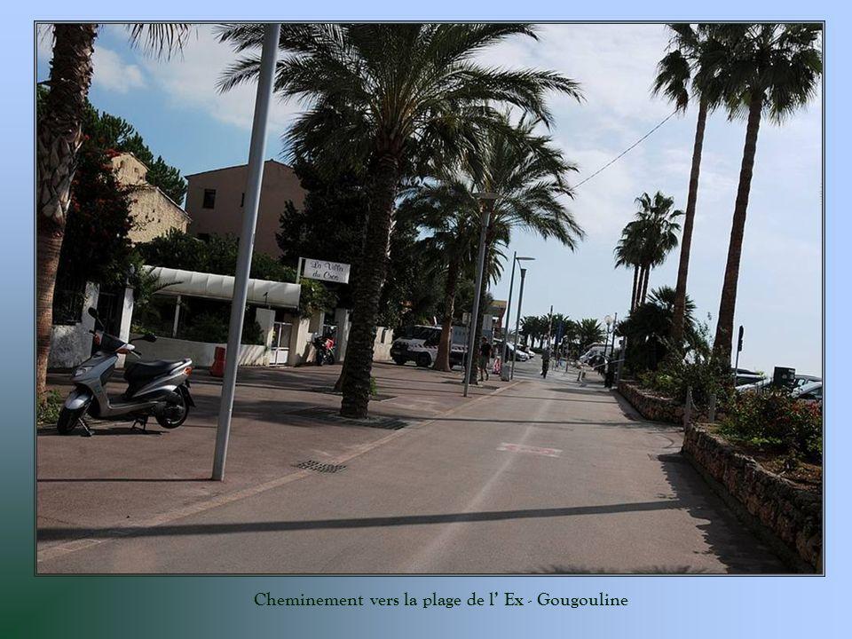 Cheminement vers la plage de l Ex - Gougouline