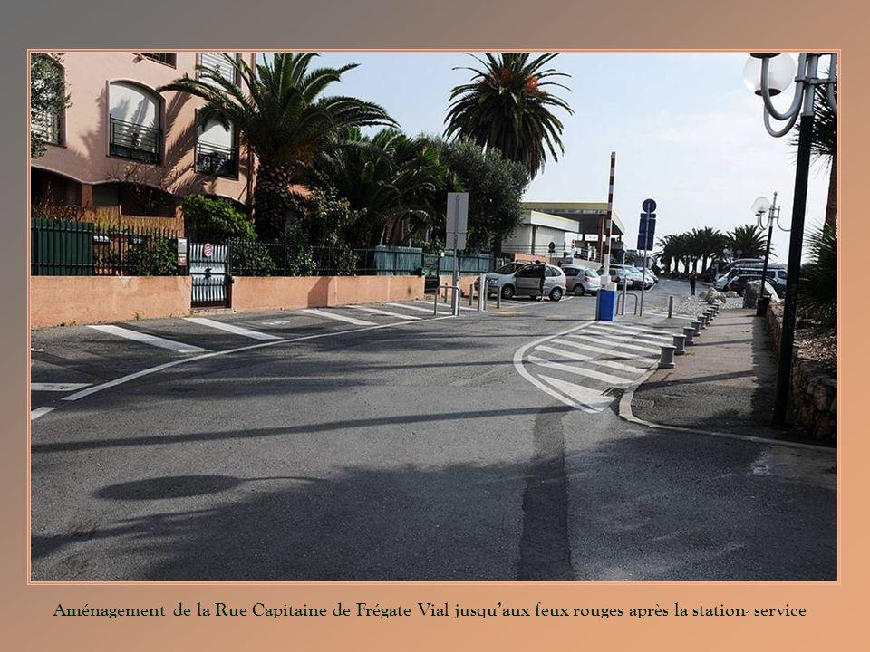 Aménagement de la Rue Capitaine de Frégate Vial jusquaux feux rouges après la station- service
