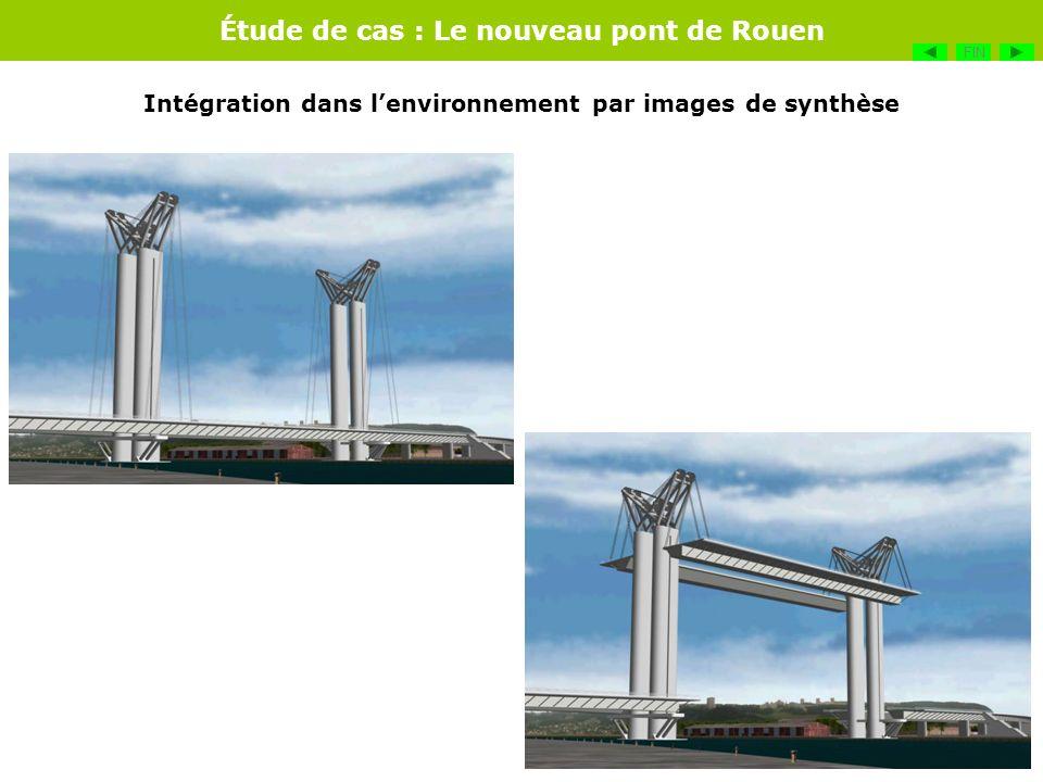 Étude de cas : Le nouveau pont de Rouen FIN Intégration dans lenvironnement par images de synthèse