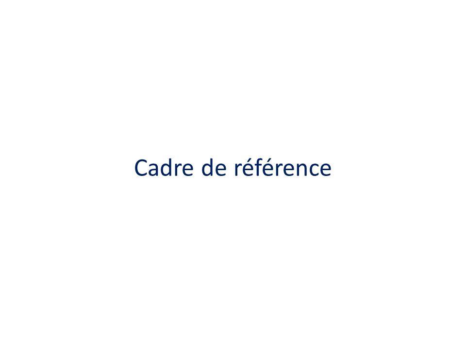 Cadre de référence