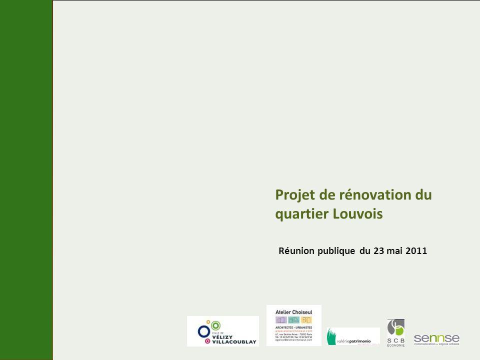 Projet de rénovation du quartier Louvois Réunion publique du 23 mai 2011