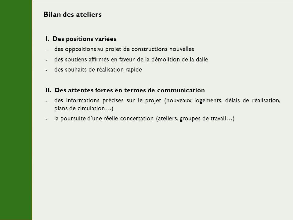 La poursuite de la concertation « Informer et échanger grâce à des réunions dinformation et des rencontres régulières »